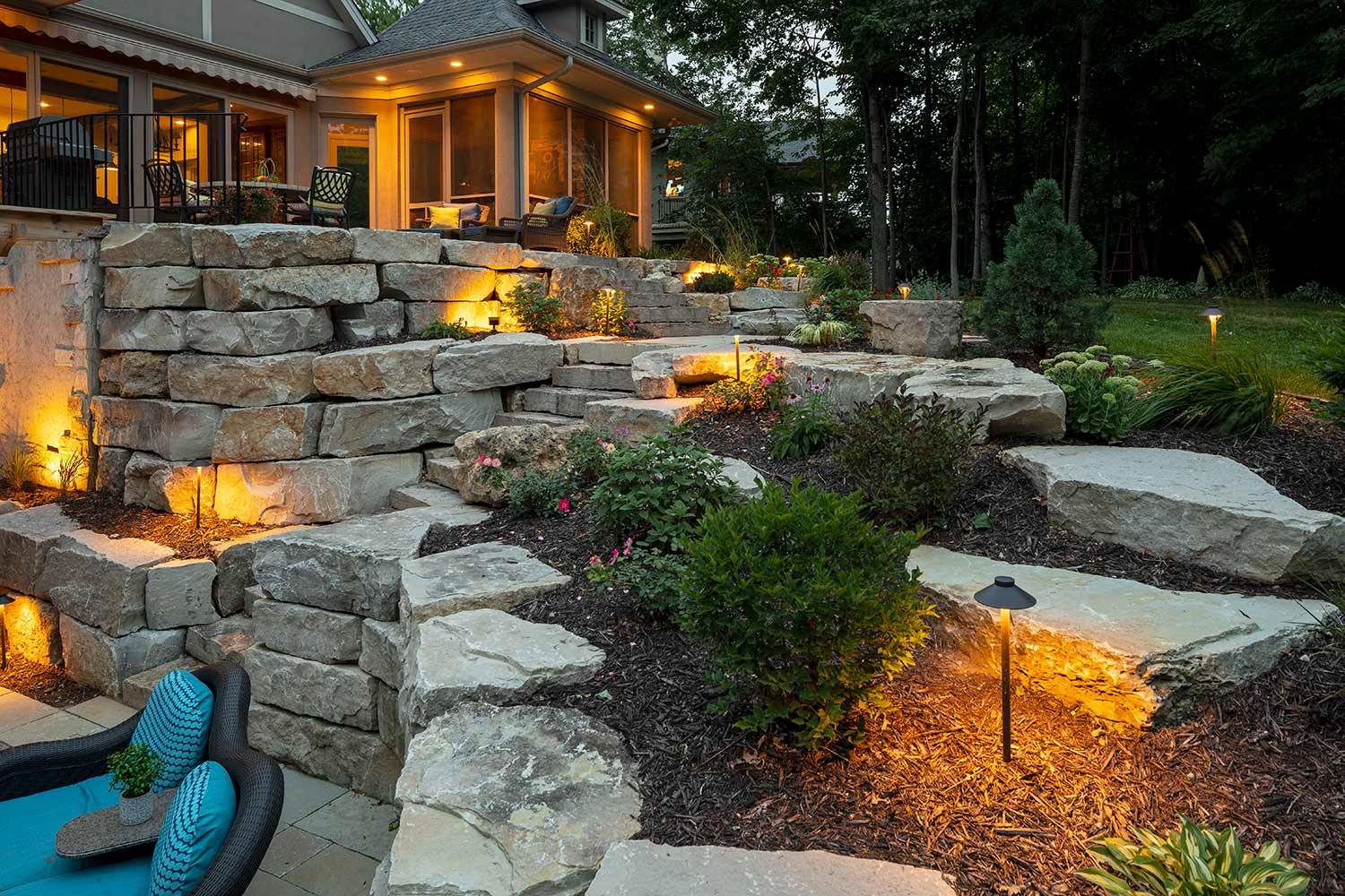 Landscape Lighting-Irving TX Landscape Designs & Outdoor Living Areas-We offer Landscape Design, Outdoor Patios & Pergolas, Outdoor Living Spaces, Stonescapes, Residential & Commercial Landscaping, Irrigation Installation & Repairs, Drainage Systems, Landscape Lighting, Outdoor Living Spaces, Tree Service, Lawn Service, and more.